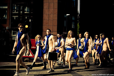 Peugeot naked people in London