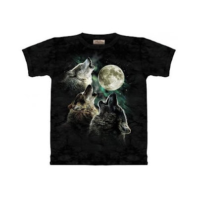 Three Moon Wolf Tshirt