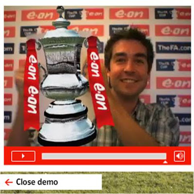 EON Augmented Reality FA Cup