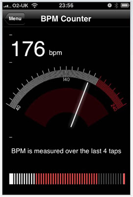 PVD iPhone DJ App BPM Counter