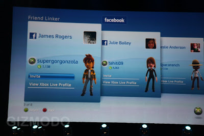 XBox LIVE Facebook Friends