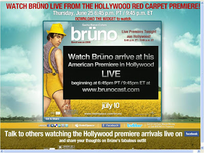 Brunocast live stream from LA Premiere