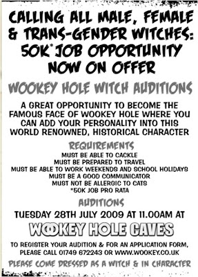 Wookey Hole Witch ad