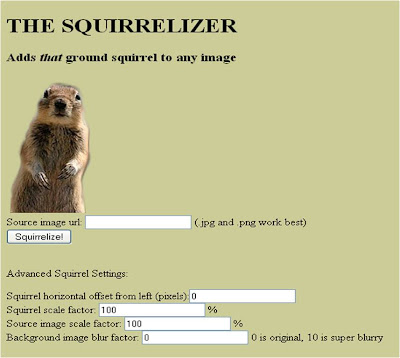 Squirrelizer Squirreliser Squirrilizer