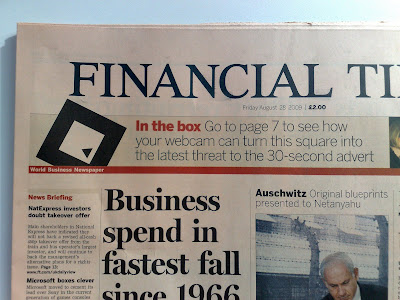 FT AR Financial Times Augmented Reality cover