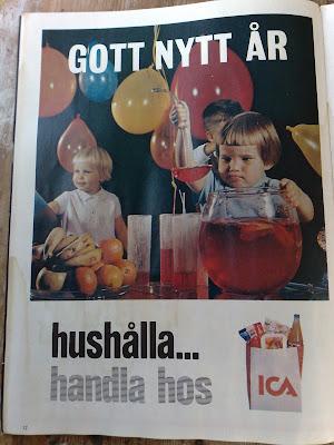 ICA Gott Nyt Ar Happy New Year ad 1967