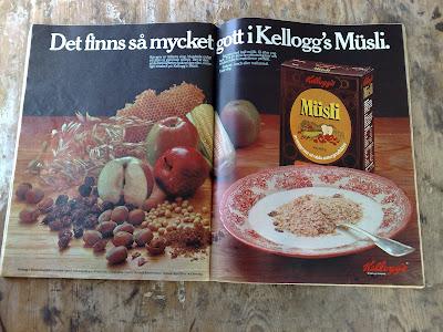 Kelloggs Muesli ad 1976