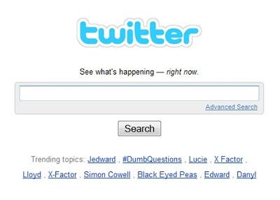 X Factor dominating Twitter Trends