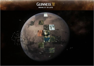 Guinness Google Earth Bring It To Life planet