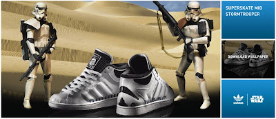 Adidas Superskate Mid Stormtrooper Star Wars