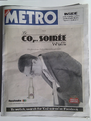 Stella Artois Metro CO2 Soiree Facebook