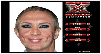 x factor compactor judges face game