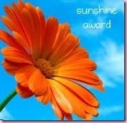 The Sunshine Award!
