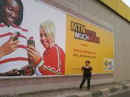 MODEL/FACE MTN NIGERIA 2009
