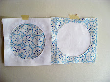 A technique for circle quilt blocks