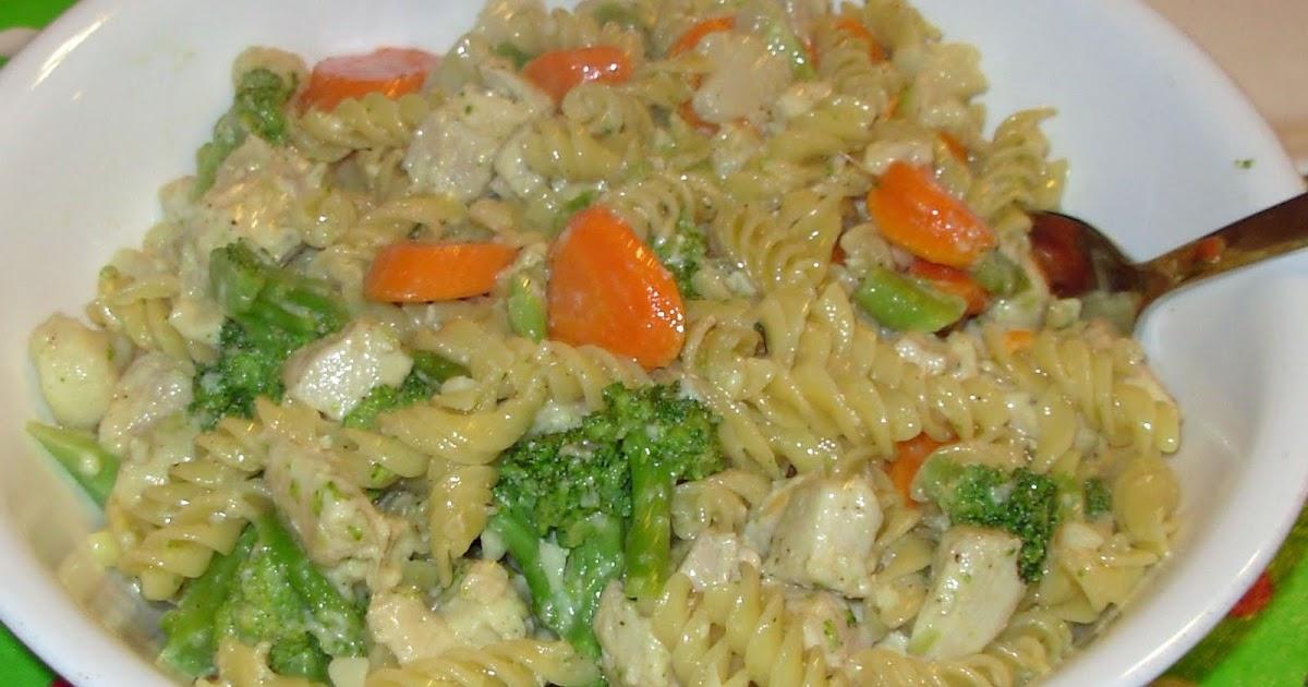 Easy Chicken Pasta Primavera