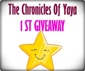 1st Giveaway The Chronicles of Yaya