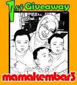 Mama Kembar 3 Buat Giveaway, Yay!