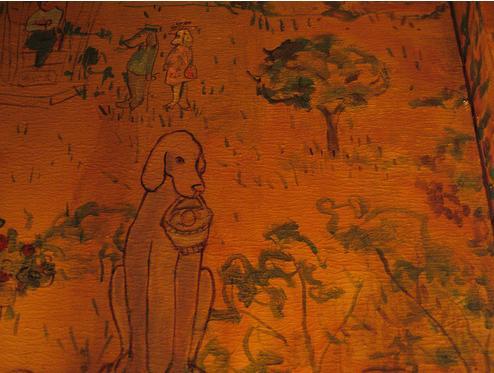 Ren e finberg 39 tells all 39 in her blog of her adventures for Bemelmans bar mural