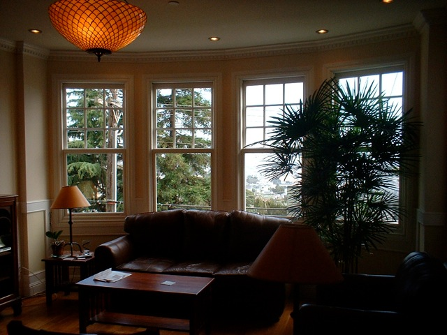You asked about window treatments in san francisco bossy for Floor to ceiling bay window