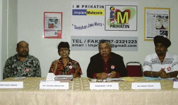 sidang akhbar iM Prihatin