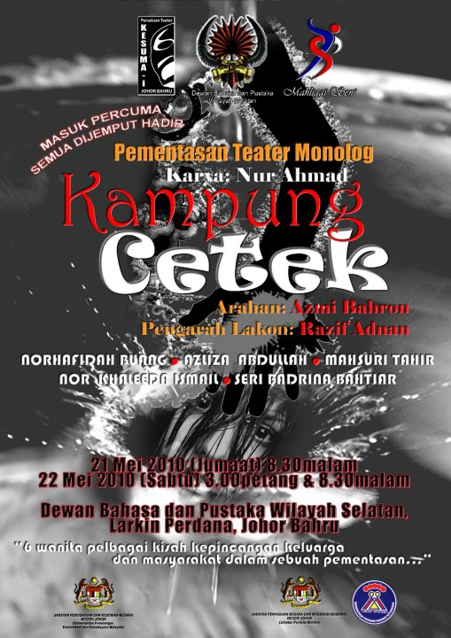 poster Kampung Cetek