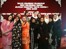 Gabungan KESUMA-i dan Puteri UMNO Bahagian Johor Bahru melancarkan majlis ini