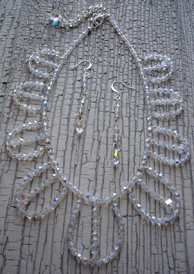 Beyonce's Lorraine Schwartz Golden Globes Inspired Beaded Necklace Set