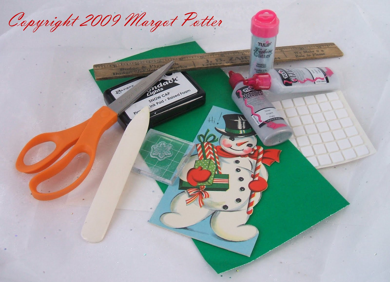 iLoveToCreate Blog: iLoveToCreate Teen: Recycled Christmas Cards