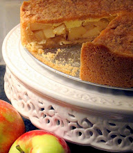 Dutch apple cake  . . .