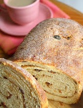 Cinnamon Raisin Bread . . .