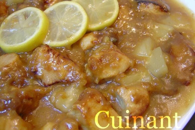 Cuinant pollo al lim n chino - Pollo al limon isasaweis ...
