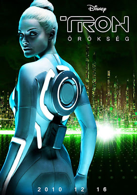 tron legacy, movie poster