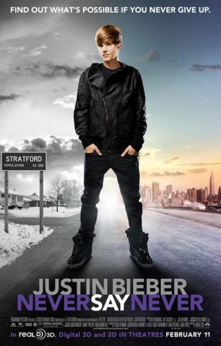 justin bieber movie poster. Justin Bieber: Never Say Never