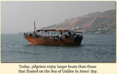 Picture+1 Israel Tour Day 4Sea of Galilee