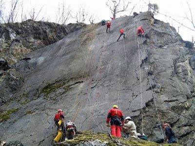 Alpinisti na Gorskom Zrcalu