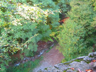 Gorsko zrcalo - pogled odozgo
