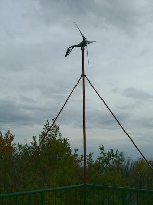 Vjetrogenerator na vidikovcu