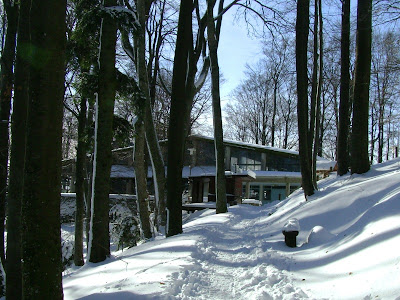 Gornja postaja žičare zimi