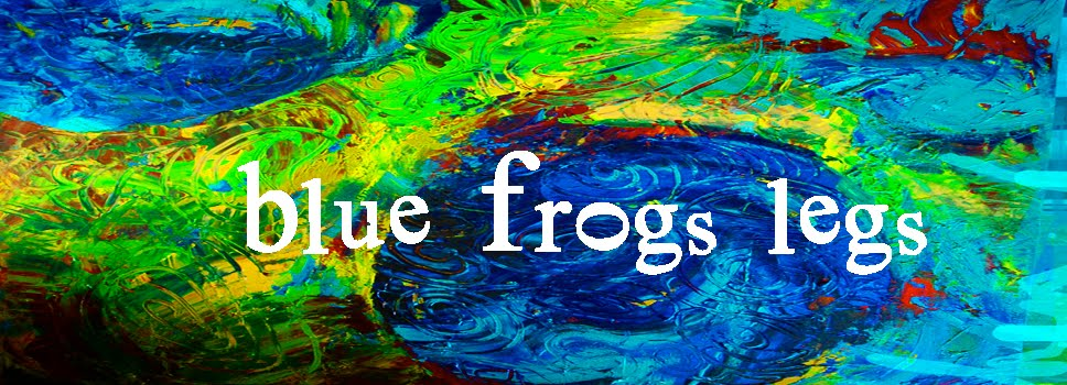 Blue Frogs Legs