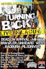 NO TURNING BACK - PHILIPPINE LEG