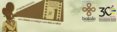 Câmera na cabeça… - Festival Aprendizes de Cinema – Taubaté-SP