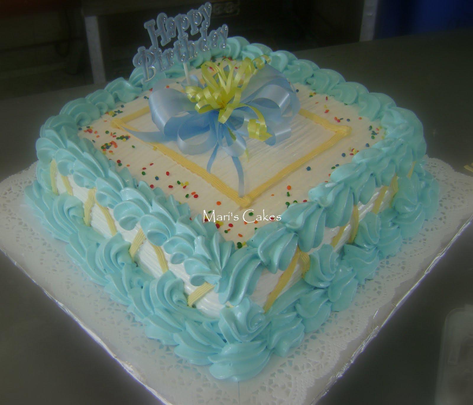 Suspiro dominican frosting or meringue mari 39 s cakes - Bizcochos de cumpleanos para ninos ...