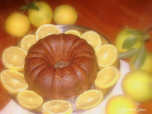 Orange Kugelhopf Cake   Mari's Cakes (English)