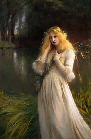 a story of ophelia and hamlet Hamlet characters at a glance hamlet ophelia, hamlet's but he yields to hamlet's entreaty and consents to remain alive to tell hamlet's story and to.