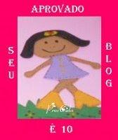 Selinho seu blog é nota 10