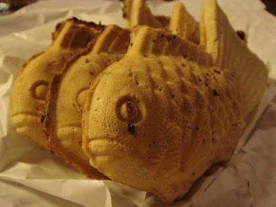 Snack Jepang yang Unik Oyoge Taiyaki-kun