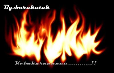 Membuat efek api diablo dengan photoshop