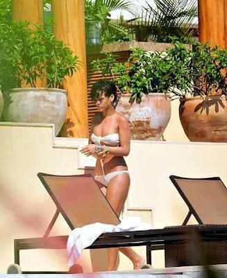Rihanna rentó una casa de campo privada sobre el fin de semana para celebrar