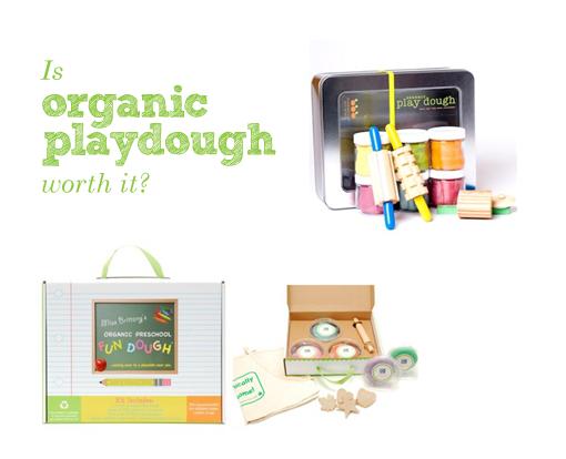 Organic playdough
